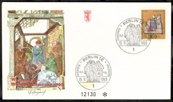 (intern:115 ) Berlin Michelnummer 352 FDC