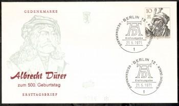(intern:127 ) Berlin Michelnummer 390 FDC