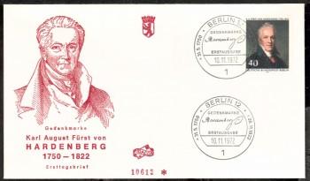 (intern:150 ) Berlin Michelnummer 440 FDC