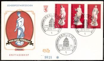 (intern:168 ) Berlin Michelnummer 478 - 480 FDC