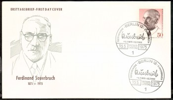 (intern:173 ) Berlin Michelnummer 492 FDC