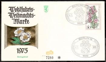 (intern:179 ) Berlin Michelnummer 514 FDC