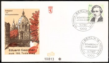 (intern:203 ) Berlin Michelnummer 542 FDC