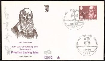 (intern:218 ) Berlin Michelnummer 570 FDC