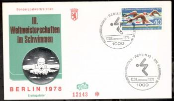 (intern:219 ) Berlin Michelnummer 571 FDC