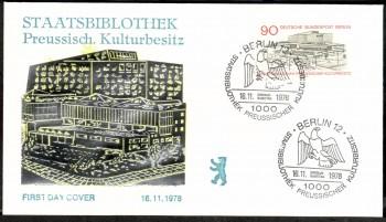 (intern:223 ) Berlin Michelnummer 577 FDC