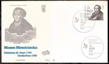 (intern:245 ) Berlin Michelnummer 601 FDC
