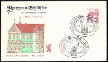 (intern:254 ) Berlin Michelnummer 611 FDC