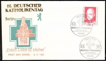 (intern:269 ) Berlin Michelnummer 624 FDC