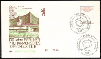 (intern:313 ) Berlin Michelnummer 666 FDC