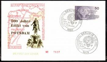 (intern:375 ) Berlin Michelnummer 743 FDC