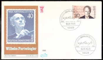 (intern:382 ) Berlin Michelnummer 750 FDC