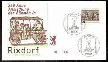 (intern:410 ) Berlin Michelnummer 784 FDC