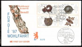 (intern:420 ) Berlin Michelnummer 789 - 792 FDC