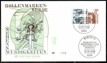 (intern:424 ) Berlin Michelnummer 798 - 799 FDC