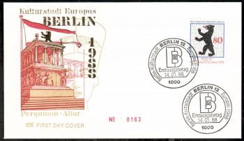 (intern:426 ) Berlin Michelnummer 800 FDC