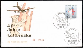 (intern:456 ) Berlin Michelnummer 842 FDC