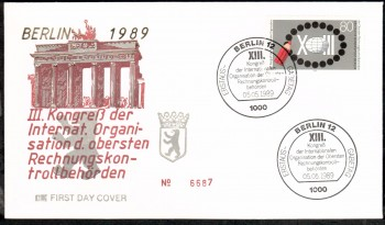 (intern:458 ) Berlin Michelnummer 843 FDC