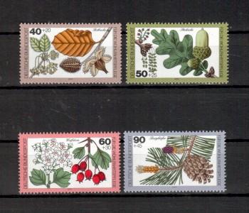 BRD Michelnummer 1024 - 1027 postfrisch