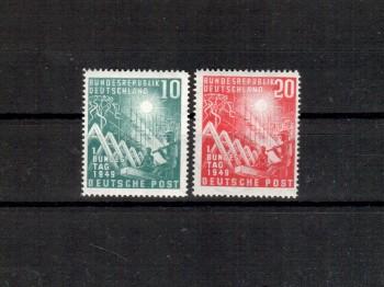 BRD Michelnummer  111-112 postfrisch
