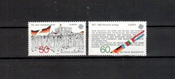 BRD Michelnummer 1130 - 1131 postfrisch