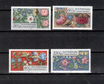 BRD Michelnummer 1259 - 1262 postfrisch