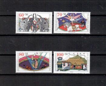 BRD Michelnummer 1411 - 1414 postfrisch