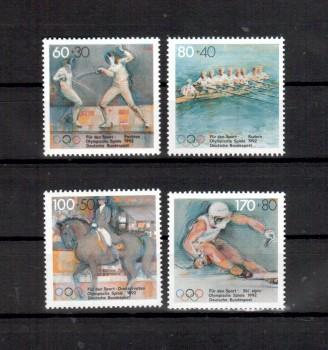 BRD Michelnummer 1592 - 1595 postfrisch