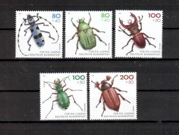 BRD Michelnummer 1666 - 1670 postfrisch