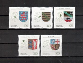BRD Michelnummer 1712 - 1716 postfrisch