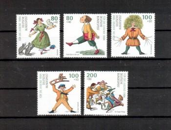 BRD Michelnummer 1726 - 1730 postfrisch
