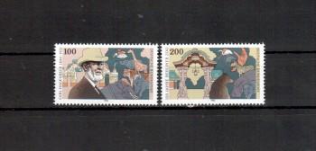 BRD Michelnummer 1734 - 1735 postfrisch