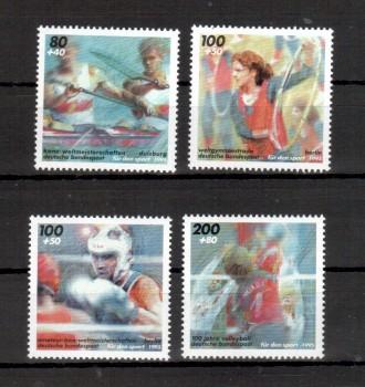 BRD Michelnummer 1777 - 1780 postfrisch