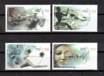 BRD Michelnummer 2094 - 2097 postfrisch