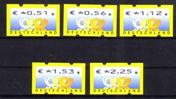 BRD Michelnummer ATM 4 Posthorn postfrisch