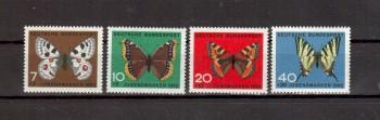 BRD Michelnummer 376-379 postfrisch