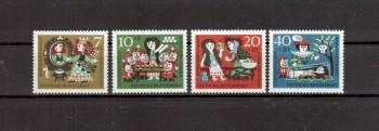 BRD Michelnummer 385-388 postfrisch