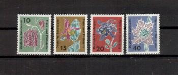 BRD Michelnummer 392-395 postfrisch