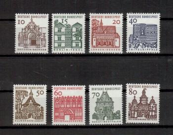 BRD Michelnummer 454-461 postfrisch