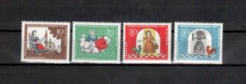 BRD Michelnummer 538-541 postfrisch