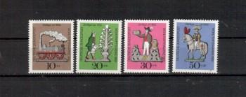 BRD Michelnummer 604 - 607 postfrisch