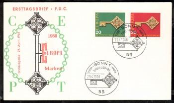(intern:1175) BRD Michelnummer 559 - 560 FDC