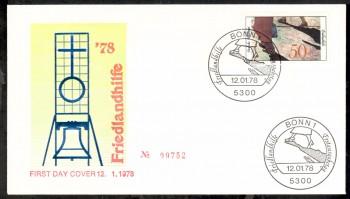 (intern:1745) BRD Michelnummer 957 FDC