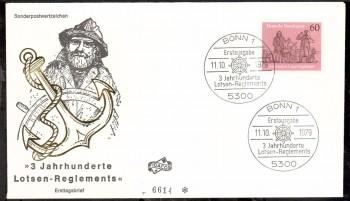 (intern:1804) BRD Michelnummer 1022 FDC