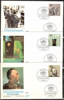 (intern:1927) BRD Michelnummer 1215 - 1217 FDC