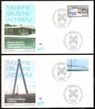 (intern:2009) BRD Michelnummer 1321 - 1322 FDC