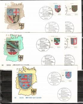 (intern:2268) BRD Michelnummer 1712 - 1716 FDC