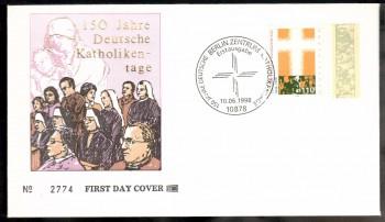 (intern:2446) BRD Michelnummer 1995 FDC