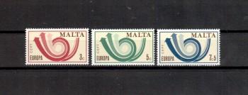 (intern: 1299) Malta Michelnummer  472 - 474 postfrisch