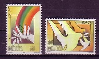 (intern:2071) Malta Michelnummer 954 - 955 postfrisch